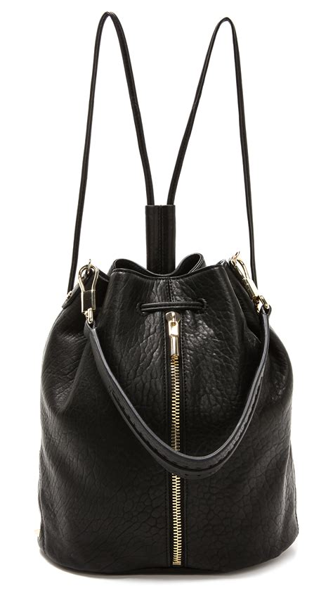 Stradi Black Sling Bag elizabeth and cynnie sling bag in black lyst