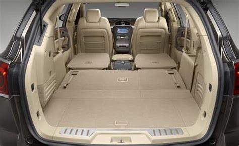 2008 buick enclave interior car and driver