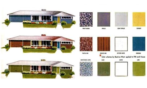 mid century color schemes mid century modern paint colors design decoration