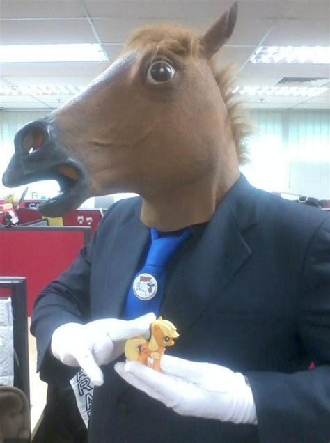 Horse Head Mask Meme - anime horse head mask meme
