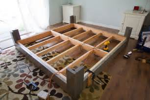 Bed Frame Diy Plan Diy Bed Frame Plans