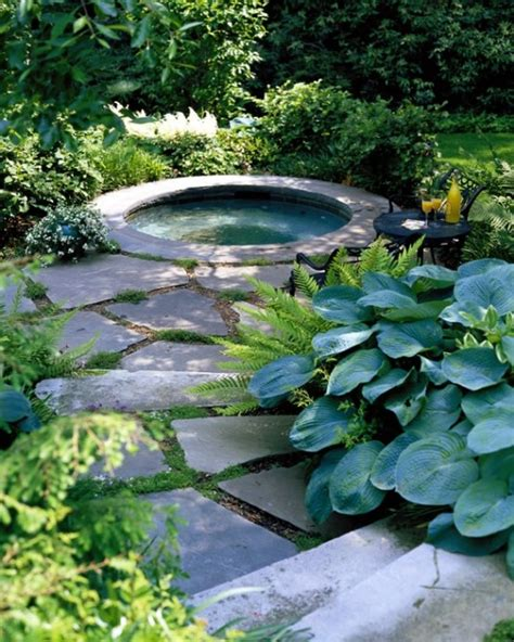 hot tub pictures backyard 65 awesome garden hot tub designs digsdigs