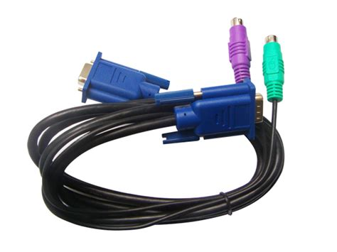 Kvm Cable 1 3 15m ps 2 kvm cable kvm switch vga splitter hdmi usb media converter dipo典派