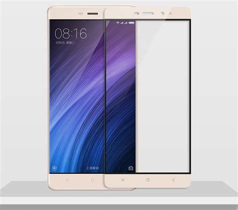 Redmi 4 Prime Tempered Glass Set Eksklusif redmi 4 prime cover protection tempered glass screen protector