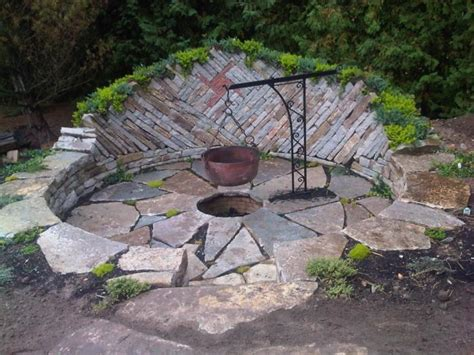 backyard design ideas with pit large and beautiful