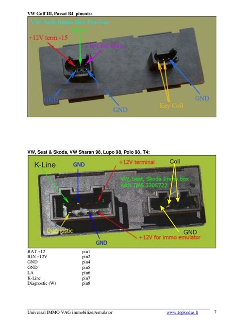 vw t4 immobiliser wiring diagram efcaviation