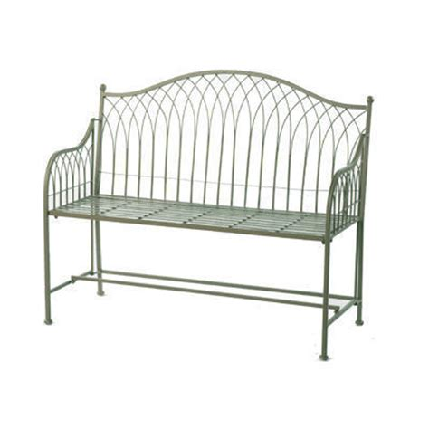 green metal bench green vintage metal garden bench homegenies