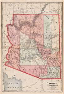 arizona territory map arizona territory barry ruderman antique maps inc