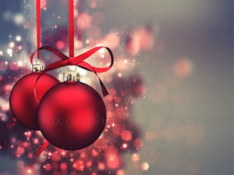 Home Decoration For Christmas red xmas balls fox graphics
