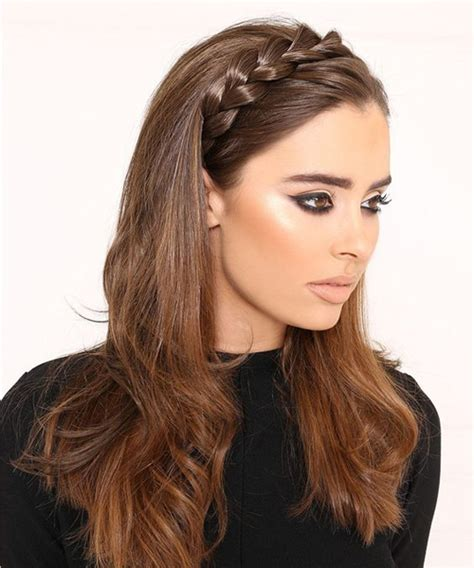 hairstyles with small headbands super cute braided headband hairstyles 2017 2018 for