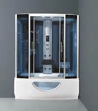 Bath With Shower Cubicle steam shower enclosures ebay