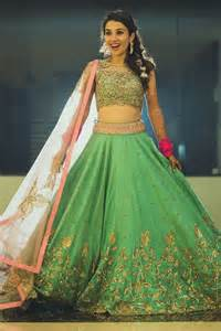 Ethnic Bed Linen - buy online banglori silk and net party wear lehenga choli in green colour at best price 547258