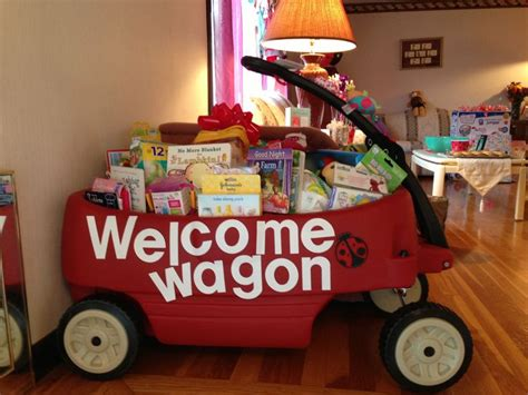 Baby Shower Welcome Wagon by 17 Best Ideas About Welcome Wagon On Gifts For