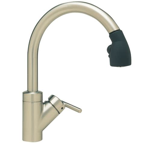 ferguson kitchen faucets b440617 rados pull out spray kitchen faucet satin nickel