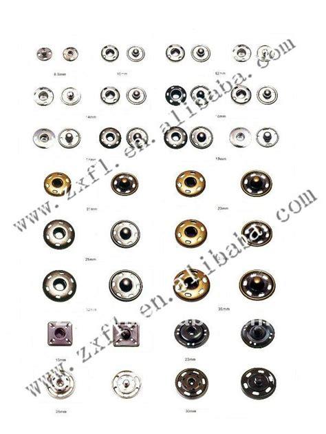 Brass Upholstery Studs Bulk Round Brass Silver Sew On Snap Fastener Press Studs