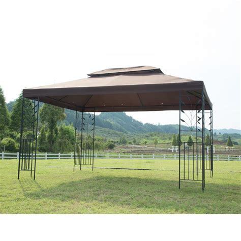 10 X 12 Gazebo Mat - 12 x 10 outdoor gazebo steel frame vented gazebo w
