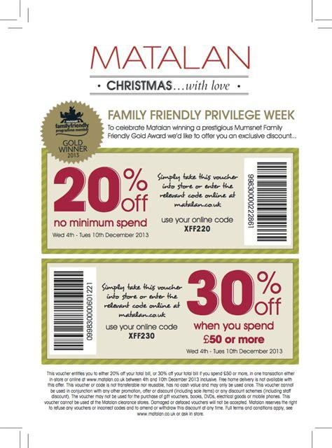 Printable Voucher Codes Matalan | matalan family friendly discounts uk cheerleading