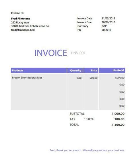 Free Editable Invoice Template Pdf Free Invoice Free Editable Invoice Template Pdf