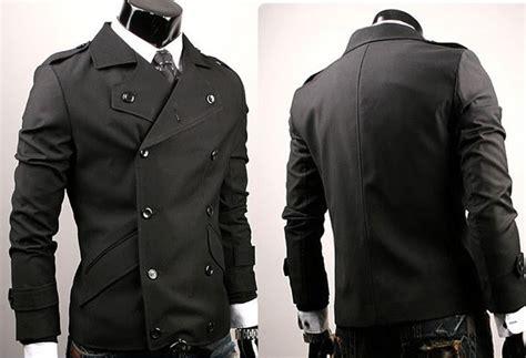 Jacket Genji Black Korean Style ciki house new korean button jacket