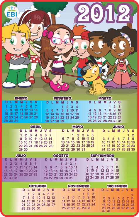 Calendario 2012 Mexico Calendario 2012 Ebi M 233 Xico