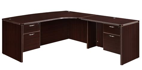 bow front desk with return executive desk with bow front 36x72 desk with 24x48