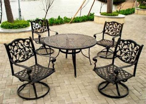 Furniture Colorful Patio Furniture Pk Home White Iron White Patio Table And Chairs
