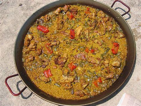 paella alicantina spanish recipe
