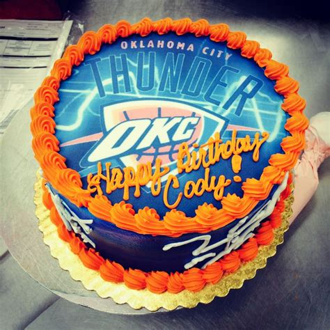 Wedding Cakes Okc by Okc Thunder Birthday Cake Cakes Birthday