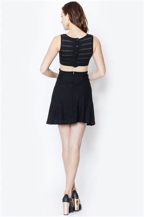 Mischa Bartons Eyelet Dress At Keds For Lord by Mystic Eyelet Dress From Miami By Secret Vanity Shoptiques