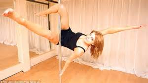 fear of leaving the house pole dancing lessons on youtube cures autistic woman s agoraphobia daily mail online