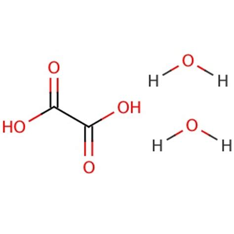 Buffer Credit Formula Oxalic Acid Dihydrate Cas 6153 56 6 Santa Biotech