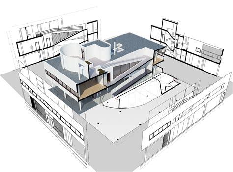 villa savoye floor plans pen by nahekul flickr back to photostream