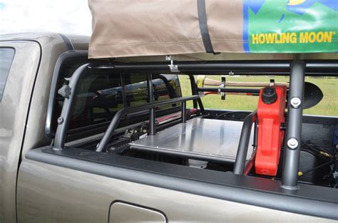 off road bed rack all pro expedition series pack rack tacoma world