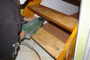 treppe schleifen schleifen der treppenstufen buntes aus dem norden ein