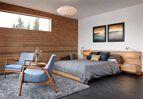 horizontal wood paneling applied   rooms decohoms