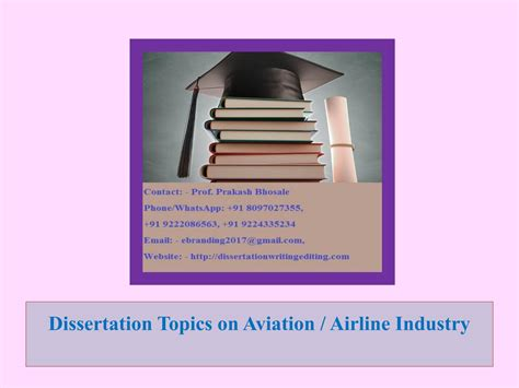 family dissertation topics 1 dissertation topics on aviation airline industry by