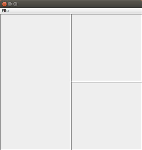 no layout manager java java what layout manager can make a paneled gui stack