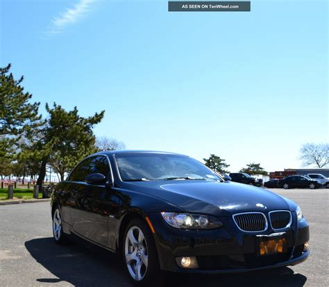 black convertible bmw 2009 bmw 328i black convertible 2 door 3 0l