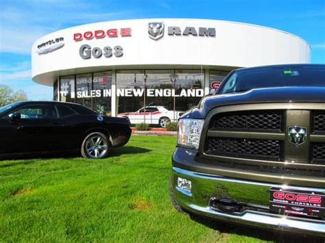 goss dodge chrysler south burlington vt goss dodge chrysler car dealership in south burlington vt
