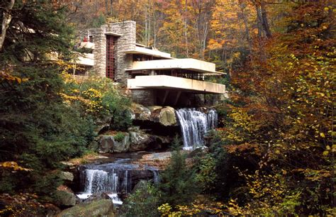 Frank Lloyd Wright Réalisations by Ad 234 S Arquitectura Fallingwater House