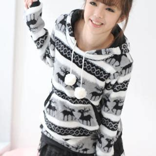 Pompom Accent Pullover buy 59 seconds pompom accent print pullover yesstyle