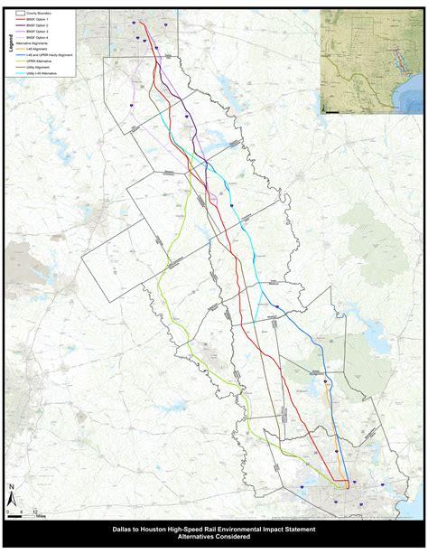 texas railway map maps texans against high speed rail