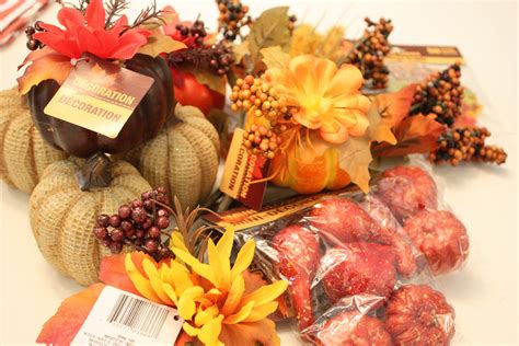 tree decorating items decorating for fall from dollar tree