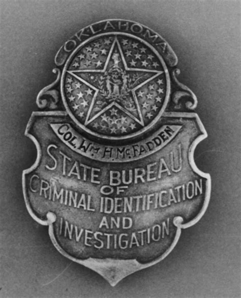 state bureau of investigations oklahoma state bureau of investigation history