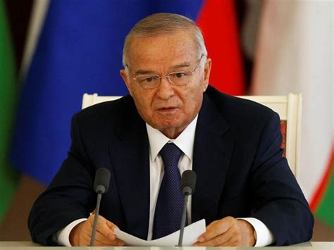 uzbek president islam karimov leaves after a wreath laying ceremony uzbekistan president islam karimov dies after three