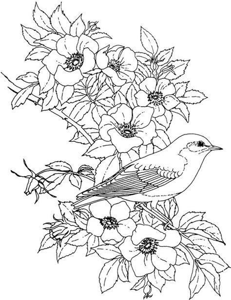 coloring pages small flowers flower coloring page