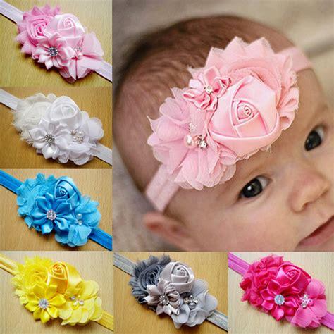 2015 baby headband shabby chic flowers pearl rhinestone 2015 newborn stain pearl lace flower hair accessories