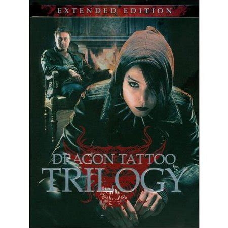 dragon tattoo trilogy the trilogy extended edition swedish