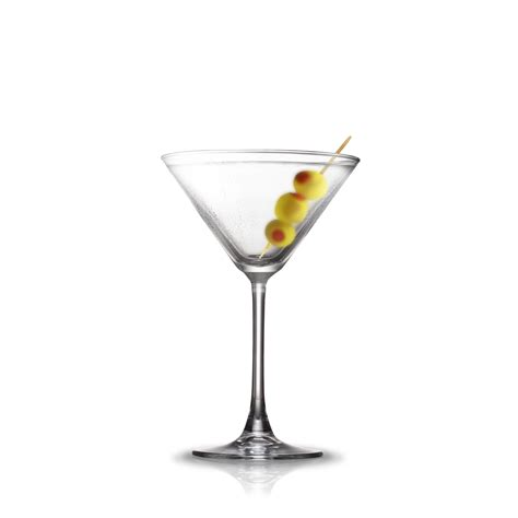 dry martini cocktail flow