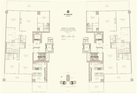 st regis floor plan st regis bal harbour condos for sale miami st regis